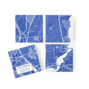 Blueprint coasters